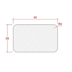 28x45 TRALLVIRKE IMP AB NORRLAND L=