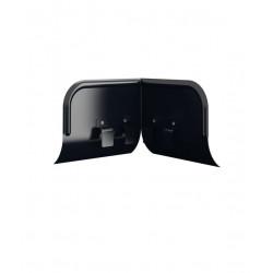 Överspolningsskydd ösk vinklat 90g svart