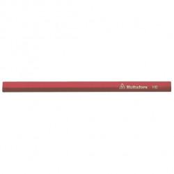 Snickarpenna 18cm röd h-f