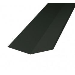 Ränndalsplåt hbp rd  svart 2000mm