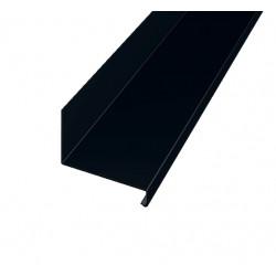 Överbleck öb svart 100 2000 2000mm