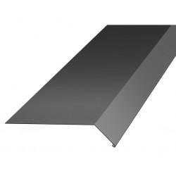 Fotplåt fotp 50 svart hbp 2000mm