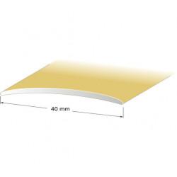 Skarvlist nr1 guld 40mm 100cm