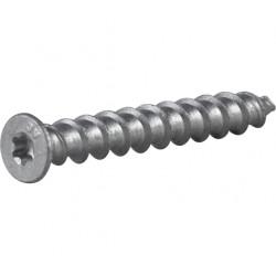 Lättbetongskruv försänkt huvud Tx30 corrseal 8x65mm