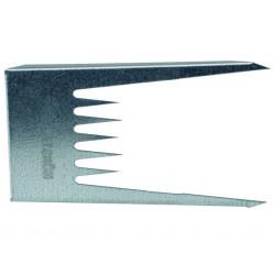 Fixeringskil plåt 125x80mm 40st