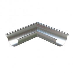 Rännvinkel ytter Silvermetallic rvy 90gr 125 90