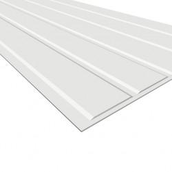 Panel regina klassisk vitmålad Mdf 6x2435x405