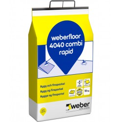 Golvspackel floor 4040 combi Rapid dr 5kg