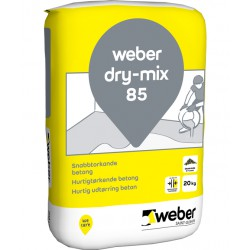 Betong dry-mix 85 Snabbtorkande 20kg