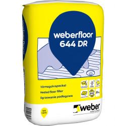 Värmegolvspackel floor 644 dr 20kg