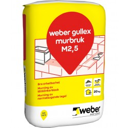 Murbruk gullex b m2,5 20kg