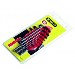 Sexkantnyckelset 1.5-10mm 10d