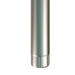 Stuprör krympt silvermetallic Srör 87 2500 smet