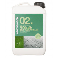 Träskydd 02. organowood Smuts&vattenskydd 3l