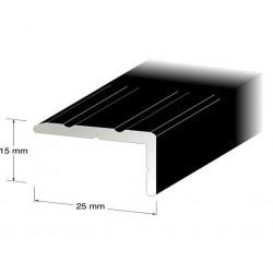 Trappnos nr132 svart 25x15mm 100cm