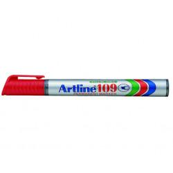 Märkpenna artline 109 m röd