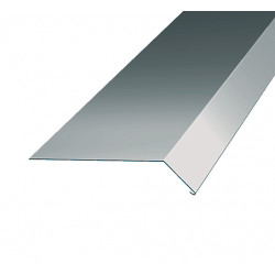 Fotplåt fotp 50 silvermetall Hbp 2000mm