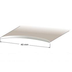 Skarvlist nr253 platina 40mm 200cm