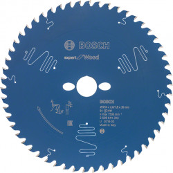Cirkelsågklinga exp wood 254x2,4x30mm 54t