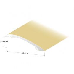Nivålist slät guld 0-10mm 200cm