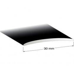 Skarvlist svarteloxerad 30mm 200cm