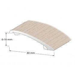 Nivålist självhäftande Vitkalkad ek 0-10mm 100cm