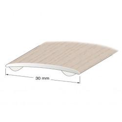 Skarvlist självhäftande Vitkalkad ek 30mm 100cm