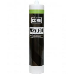 Akrylfog core vit s 0603-g80y 300ml
