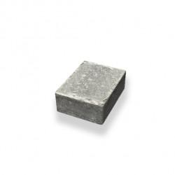 Marksten Halvsten labyrint/troja grå 105x140x50mm b