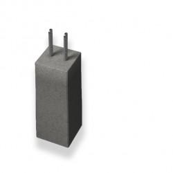 Plint stolpsko grå 500mm 2t