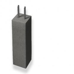 Plint stolpsko grå 700mm 3t