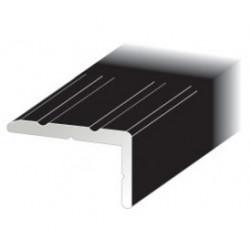 Trappnos nr132 svart 25x15mm 200cm